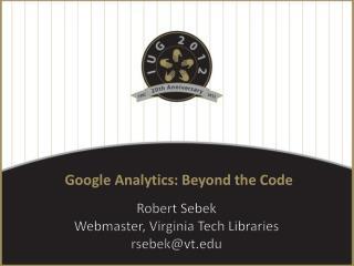 Google Analytics: Beyond the Code