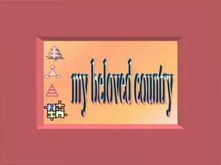 my beloved country