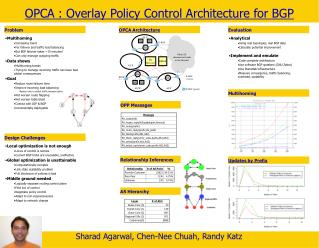 OPCA : Overlay Policy Control Architecture for BGP