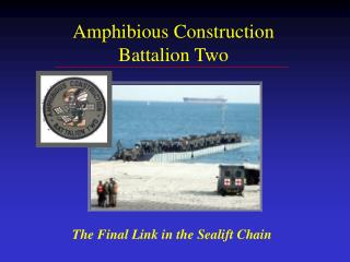 Amphibious Construction Battalion Two