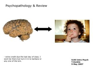 Psychopathology & Review