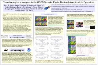 Transitioning Improvements in the GOES Sounder Profile Retrieval Algorithm into Operations