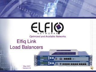 Elfiq Link Load Balancers