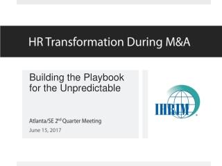 U.S. HR Service Center Transformation Initiative