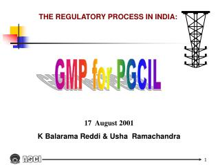 THE REGULATORY PROCESS IN INDIA: