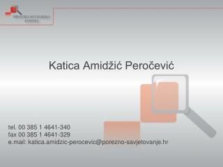 Katica Amidžić Peročević