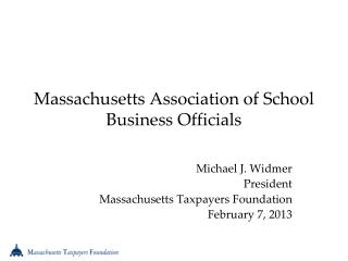 Massachusetts Association of School Business Officials