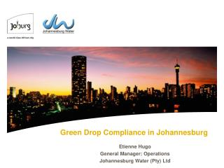 Green Drop Compliance in Johannesburg