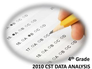 2010 CST DATA ANALYSIS