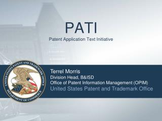 PATI Patent Application Text Initiative