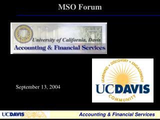 MSO Forum