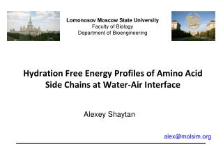 Hydration Free Energy Profiles of Amino Acid Side Chains at Water-Air Interface