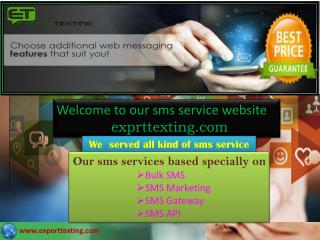 BULK SMS Providers in United States