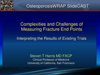 OsteoporosisWRAP SlideCAST