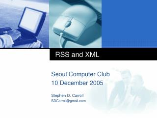 RSS and XML
