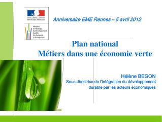 Anniversaire EME Rennes – 5 avril 2012