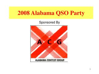 2008 Alabama QSO Party