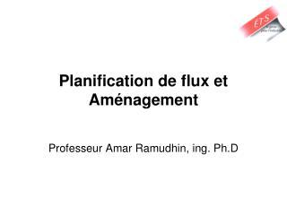 Planification de flux et Aménagement