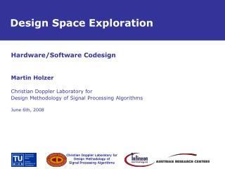 Design Space Exploration