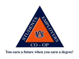 You earn a future when you earn a degree!