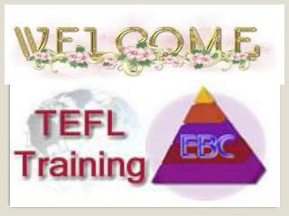 Make Career in Teaching with Ebcteflcourse