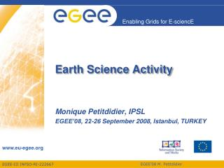 Earth Science Activity