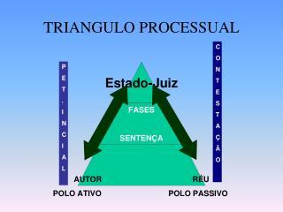TRIANGULO PROCESSUAL