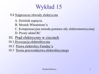 Wykład 15
