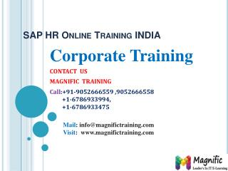 sap hr online training in Delhi