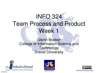 INFO 324 Team Process and Product Week 1