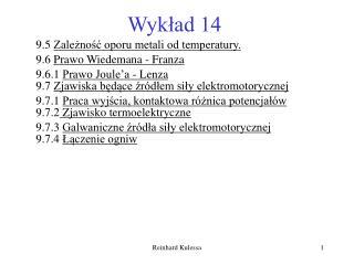 Wykład 14