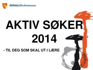 AKTIV SØKER 2014
