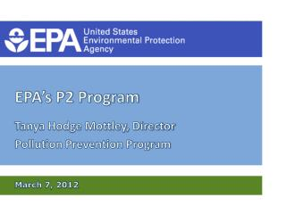EPA's P2 Program