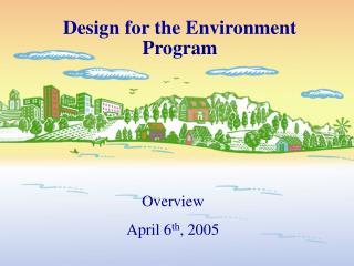 Design for the Environment Program