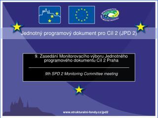 Jednotný programový dokument pro Cíl 2 (JPD 2)