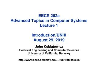 Introduction   Unix