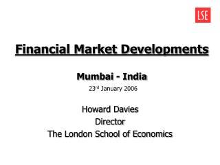 Financial Market Developments