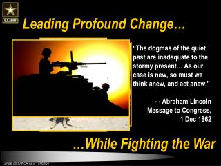 Leading Profound Change�