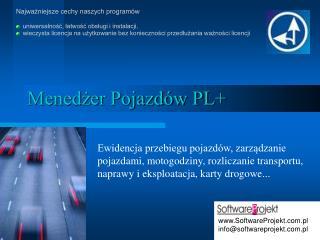 Menedżer Pojazdów PL+