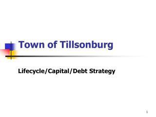 Town of Tillsonburg