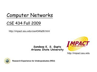 Computer Networks CSE 434 Fall 2009