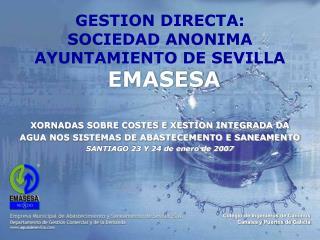GESTION DIRECTA:  SOCIEDAD ANONIMA AYUNTAMIENTO DE SEVILLA EMASESA