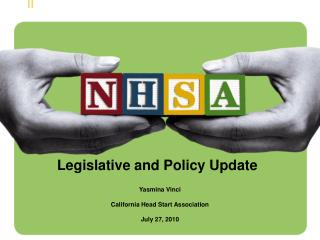Legislative and Policy Update