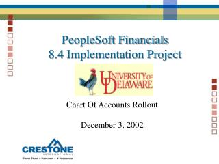 PeopleSoft Financials 8.4 Implementation Project