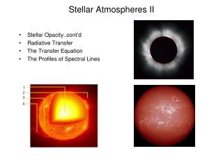 Stellar Atmospheres II