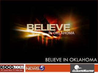 Believe In Oklahoma