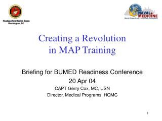 Creating a Revolution in MAP Training