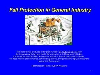 Fall Protection in General Industry