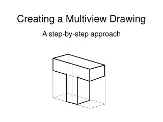 Creating a Multiview Drawing