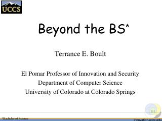 Beyond the BS *